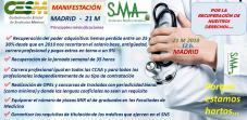21-Marzo: fecha de la manifestación para recuperar el poder adquisitivo de los médicos y otros derechos perdidos. Estas son nuestras reivindicaciones.