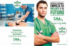 Vosotros salváis vidas, nosotros vuestros derechos. Después de la residencia empieza tu presente y tu futuro. Sindicato Médico Andaluz  #tusderechosimportan #UnaProfesiónUnSindicato