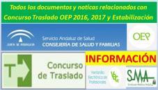 Todos los documentos y noticias relacionados con los Concursos de Traslados de la OEP 2016, 2017 y de Estabilización en nuestra web