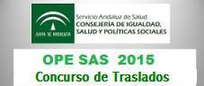 OPE 2015. Concurso de Traslados