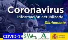 Información: Documentos con información actualizada a diario para los profesionales sobre el COVID-19.
