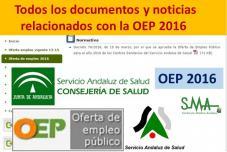 Todos los documentos y noticias relacionados con la OEP 2016 en nuestra web