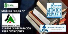 Oferta de cursos de preparación para la próxima OEP - Médico de Familia en Atención Primaria: Curso Intensivo Atención Primaria Asturias y Centro de Estudios Oposiciones Sanitarias.