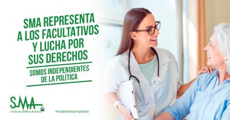 El Sindicato Médico Andaluz representa a los facultativos y lucha por sus derechos. Somos independientes de la política.