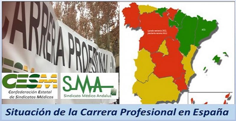 CESM analiza la situación de la Carrera Profesional en España.