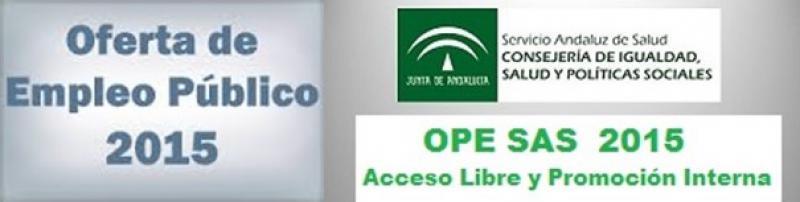 A partir de mañana, día 31, se publicarán en BOJA, las listas de personas admitidas/excluidas de la OEP 2013-2015 del SAS.