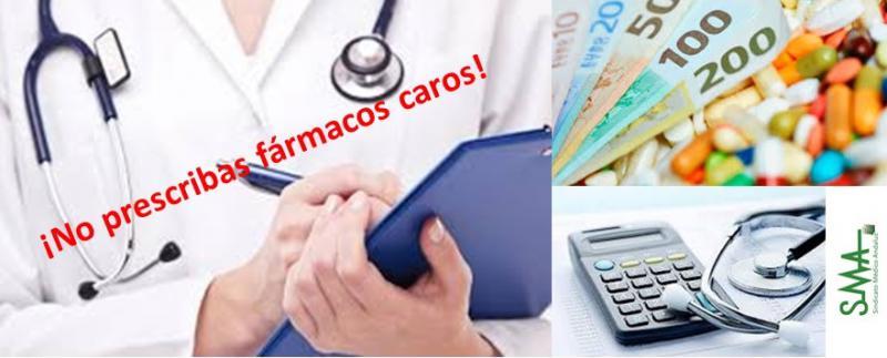 Denuncian presiones a médicos para reducir el gasto farmacéutico.
