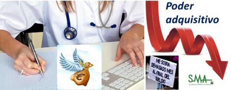 La realidad de los médicos: menos salarios y más coste de vida. Y mucha más carga de trabajo.