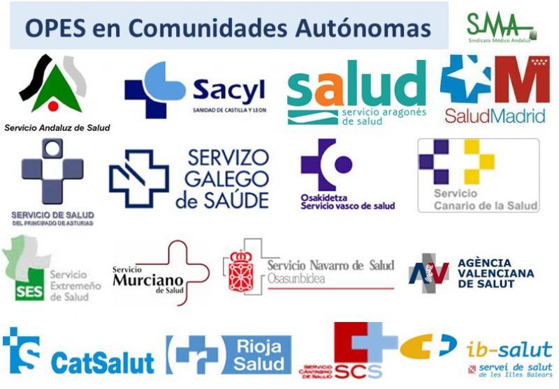 Las autonomías tienen pendiente convocar más de 17.500 plazas sanitarias para 2017.