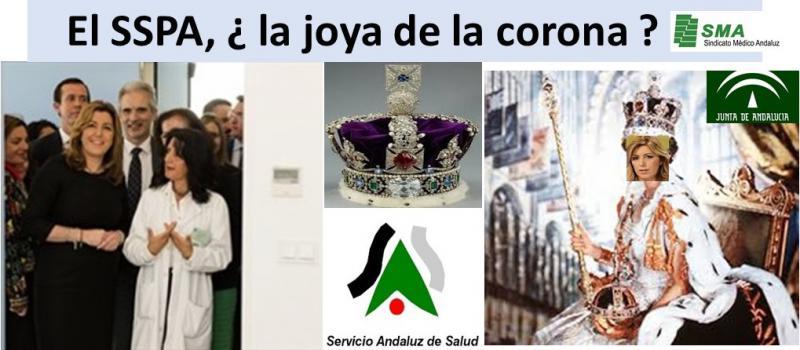 Sobre la joya de la corona y la propaganda institucional.