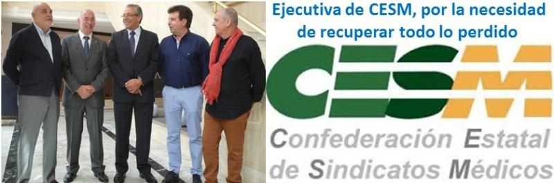 Una dirección ejecutiva de CESM fuerte para una estrategia común en defensa de todos los profesionales.
