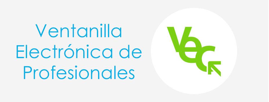 Acceder a la Ventanilla Electrónica de Profesionales (VEC)