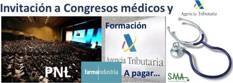 Farmaindustria insta a desarrollar la PNL para no tributar por los congresos.