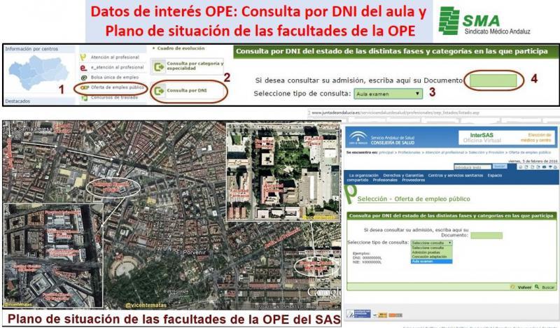 Cifras, datos y otras informaciones de interés sobre la OPE SAS.