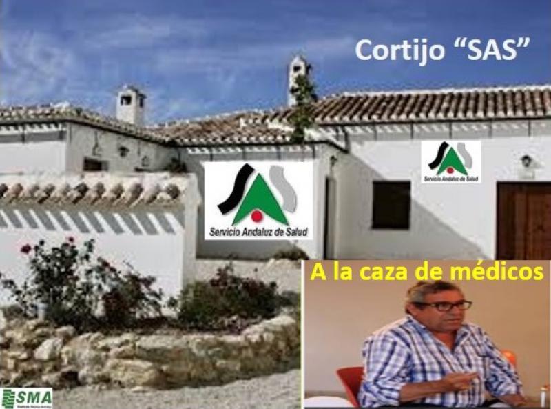 Álvaro Nieto, capataz del Cortijo, continúa la caza de los médicos.
