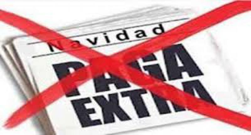 Los sindicatos vuelven a reclamar la restitución del 25% de la extra de 2012