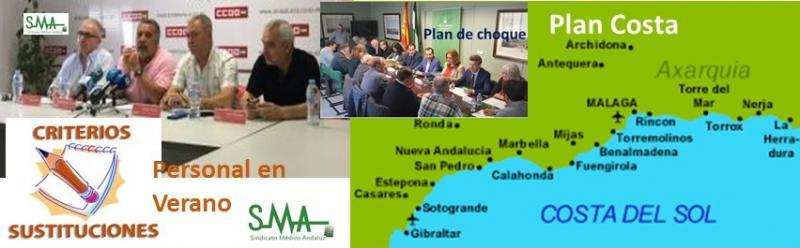 Ante la sospecha del incumplimiento del Plan Costa, los sindicatos anuncian movilizaciones en Málaga.