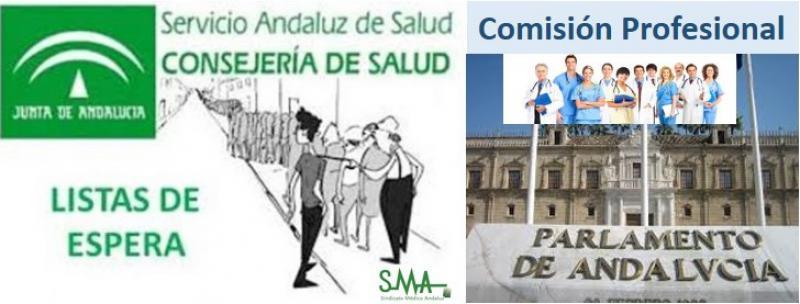 El SAS cede la mejora de sus listas de espera a profesionales y pacientes.