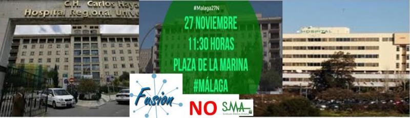 Desde Málaga hablan los pacientes... «La Junta está privatizando la Sanidad para especular con ella»
