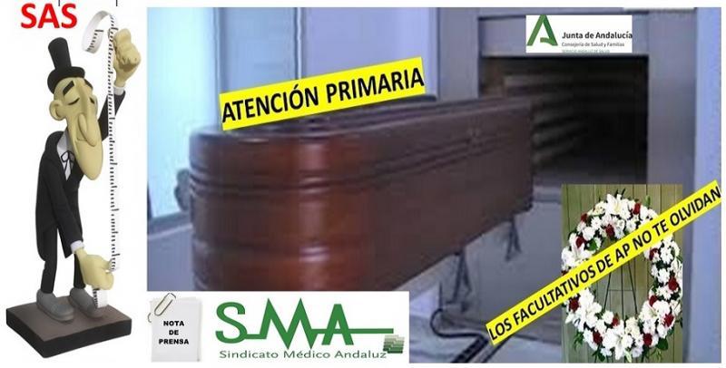 El SMA intenta reunirse con el Presidente de la Junta de Andalucía por el S.O.S. de la Atención Primaria en Andalucía. No ha sido posible.