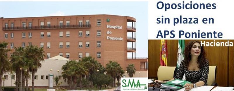 La Junta bloquea la contratación de médicos en un hospital de Almería, pese a aprobar unas oposiciones.