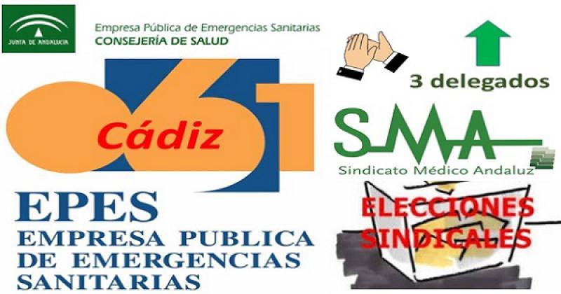 Éxito del SMA en las elecciones de la EPES-061 en Cádiz.