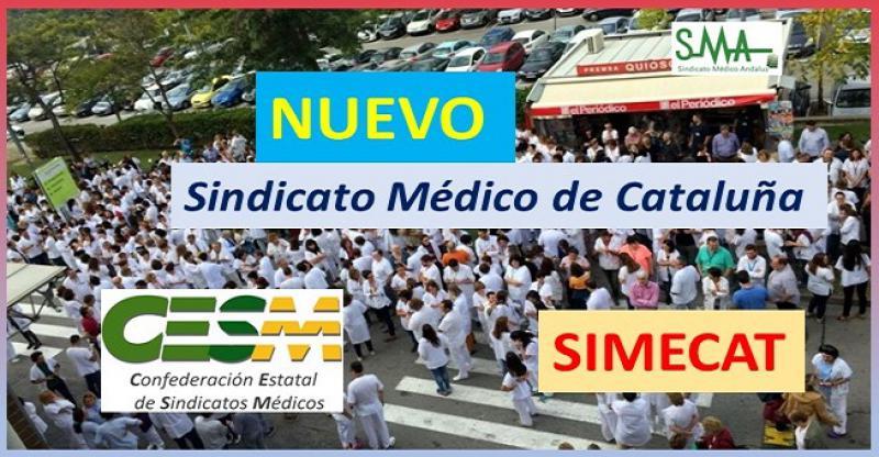 Nuevo sindicato médico 'neutral' en Cataluña, que se integrará en CESM.