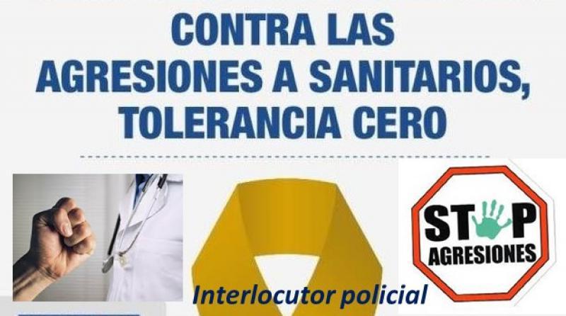 Novedades policiales frente a las agresiones al personal sanitario.