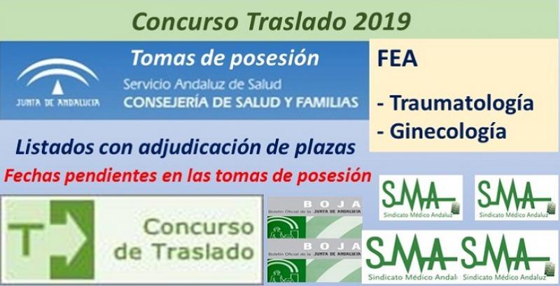 Concurso de Traslados 2019. Publicado en el Boja la resolución definitiva de FEA de Traumatología y FEA de Ginecología.