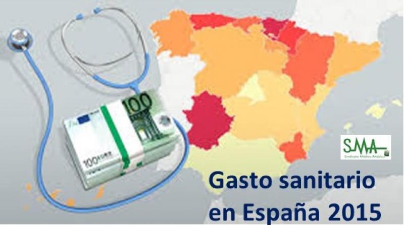 Crece el gasto sanitario en España, más en Hospitales que en Atención Primaria.