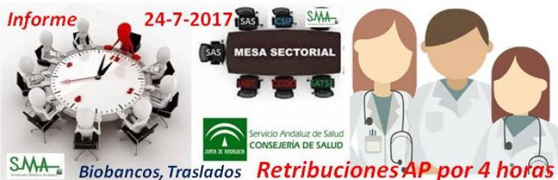 Propuesta del SAS para retribuir la cobertura de bajas y vacaciones en A Primaria. Nuestro informe de mesa sectorial del 24-7-2017.