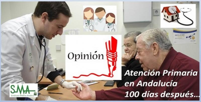 OPINIÓN: SANIDAD ANDALUZA, 100 DÍAS DESPUÉS.