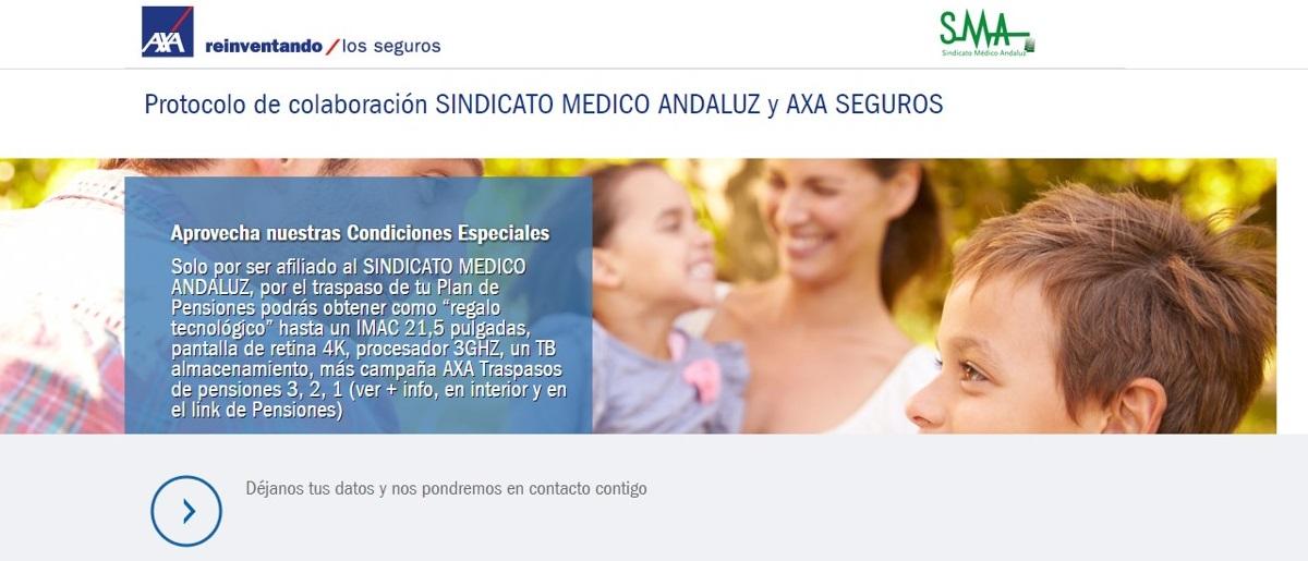Pincha aquí para información y descuentos del acuerdo AXA-SMA