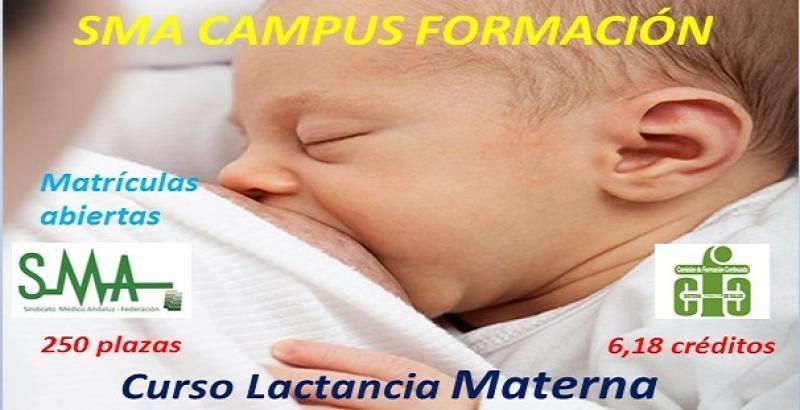 Campus SMA Formación: Estudio interdisciplinar de la lactancia materna.