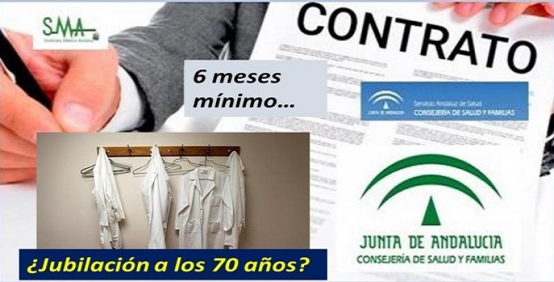 Salud promete contratos de al menos 6 meses a 5.700 eventuales y estudia ampliar la jubilación hasta los 70 años.