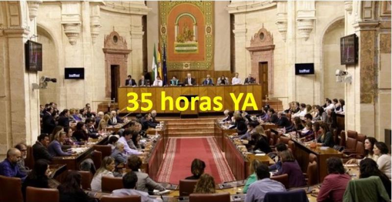 El Parlamento convalida el decreto que devuelve la jornada laboral de 35 horas semanales a los empleados públicos.