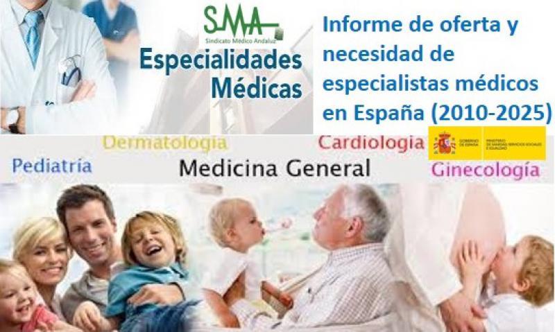 La falta de médicos pondrá en jaque a la sanidad española a partir de 2025.