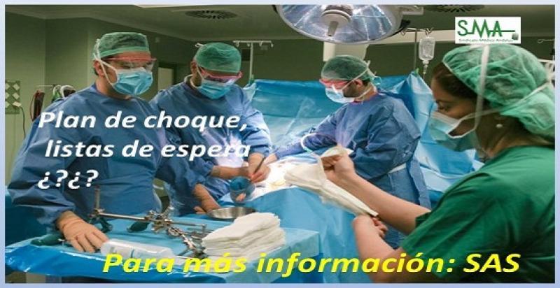 Según informa la prensa, nueve hospitales y 200 quirófanos empiezan hoy a bajar las listas de espera en Andalucía.