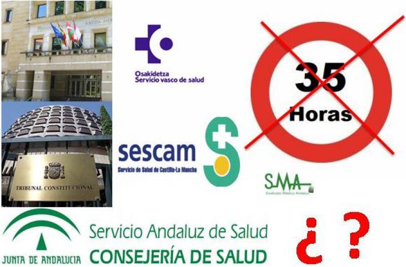 El Tribunal Superior anula las 35 horas semanales de los funcionarios vascos.