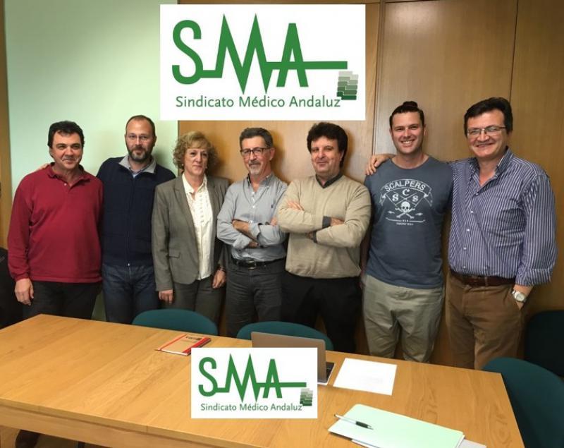 Nuevo Comité Ejecutivo del Sindicato Médico Andaluz.