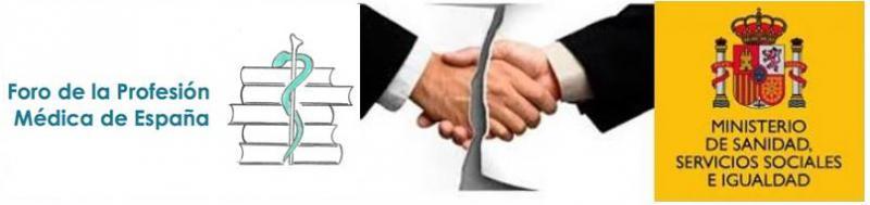 CESM logra el apoyo de todo el Foro de la Profesión Médica que rompe relaciones con el Ministerio.