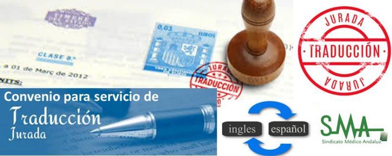 Convenio de colaboración para traducción jurada de documentos para OPE.
