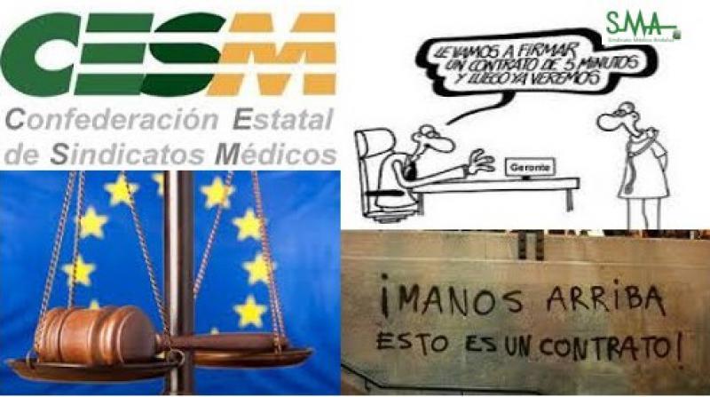 CESM exige al Gobierno terminar con la precariedad y temporalidad del empleo médico.