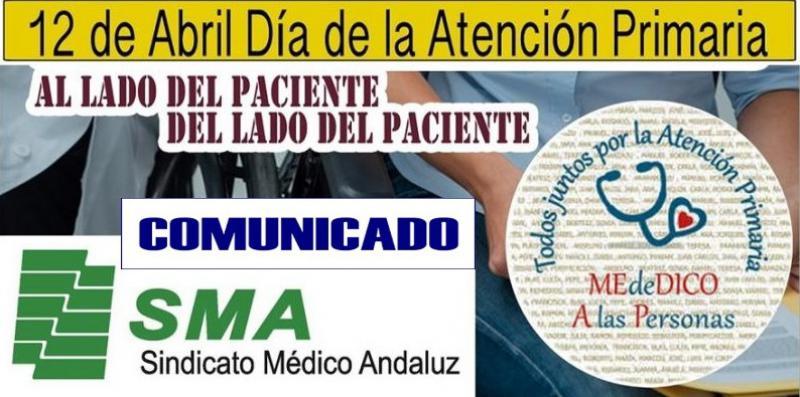 Comunicado del SMA en el Día Nacional de la Atención Primaria