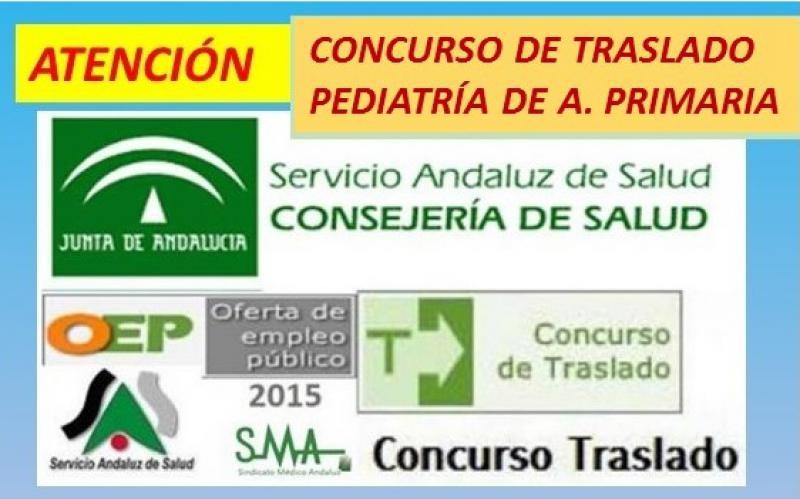 Remitida al BOJA la Resolución (aún sin fecha de publicación) con las listas definitivas del Concurso de Traslados de Pediatría de Atención Primaria.
