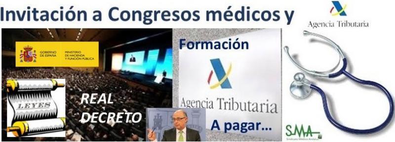 Hacienda tramita el decreto por el que el médico no tributará al ser invitado por la industria.