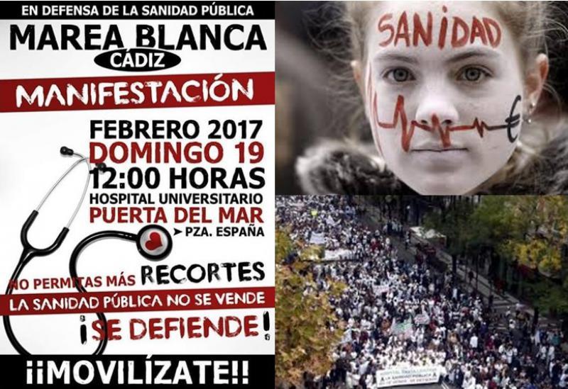 El consejero de Salud oirá a la Marea Blanca de Cádiz antes de la manifestación del día 19.