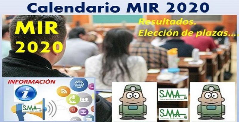 Calendario MIR 2020: Sanidad fija las fechas de publicación de resultados y asignación de plazas.