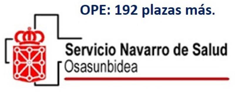 Navarra: Aprobada una segunda OPE de 192 plazas.