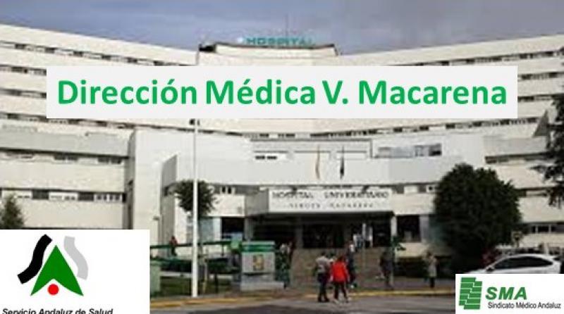 La Dirección Médica del Hospital V. Macarena.